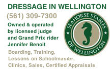 Jennifer Benoit Seahorse Stables of Wellington